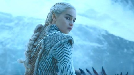 Dany dragons ice queen game of thrones