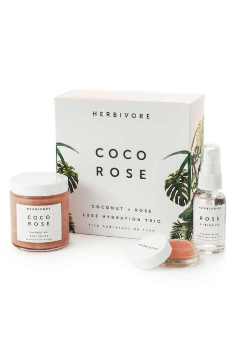 Rosewater coco herbivore