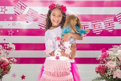 American Girl Kid Girl Birthday Princess