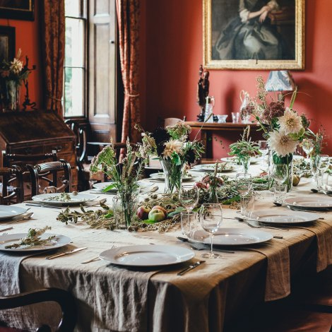 french colonial museum dinner party